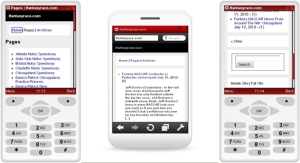Fantasy NASCAR Mobile Phone / Cell Phone